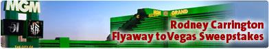 Flyaway to Vegas Sweepstakes!